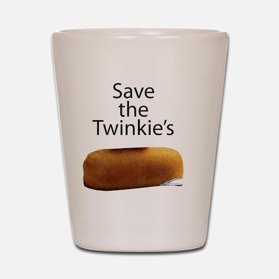 Save The Twinkie's Shot Glass