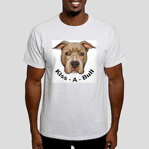 Kiss-A-Bull 1 Ash Grey T-Shirt