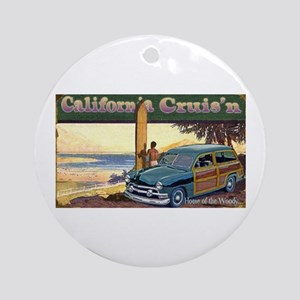 CALIFORNIA CRUIS'N Ornament (Round)