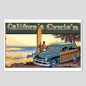 CALIFORNIA CRUIS'N Postcards (Package of 8)