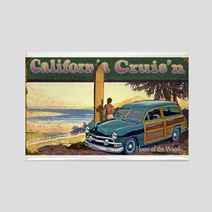 CALIFORNIA CRUIS'N Rectangle Magnet