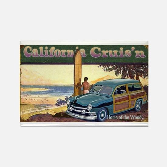 CALIFORNIA CRUIS'N Rectangle Magnet