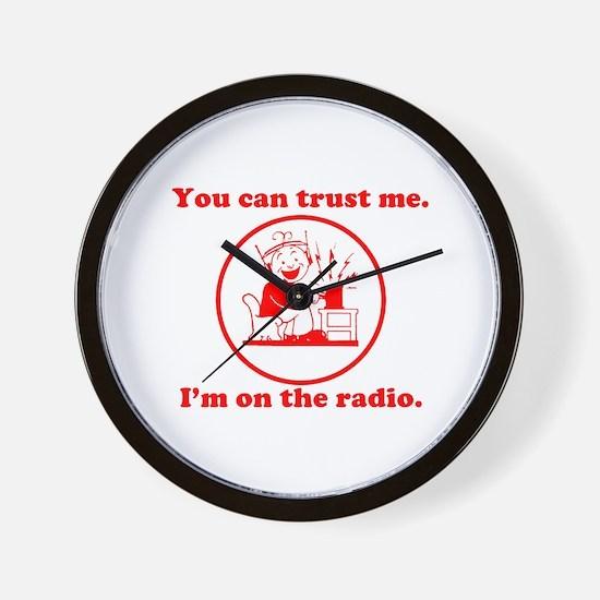 Trust Me. Wall Clock