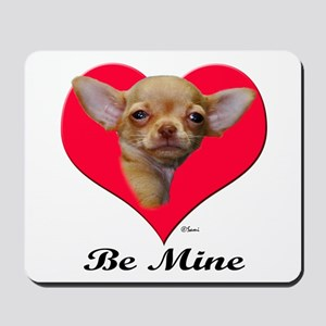 A Baby Chihuahua Valentine Mousepad