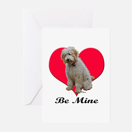 A Golden Doodly Valentine Greeting Cards (Package