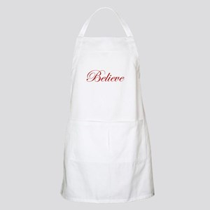 Red Believe BBQ Apron