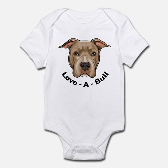 Love-A-Bull 1 Infant Bodysuit