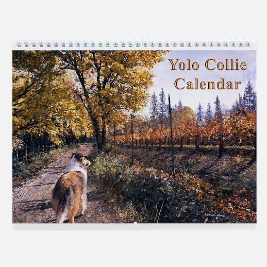 Yolo Collies Calendar -- 2006-2007 happy tails