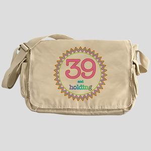 Number 39 and Holding Sherbert Zig Z Messenger Bag