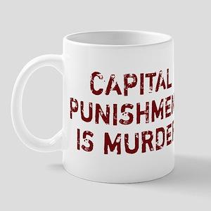 Capital Punishment Is Murder Mug