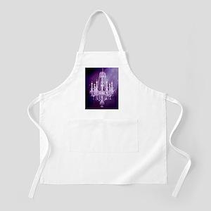 purple chandelier  Apron