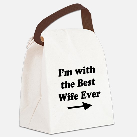 Best Wife Ever Canvas Lunch Bag