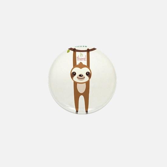 Cute Sloth Mini Button (10 pack)