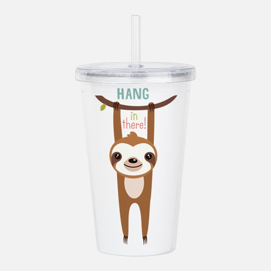 Cute Funny face Acrylic Double-wall Tumbler