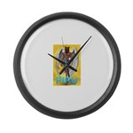 Piru Large Wall Clock