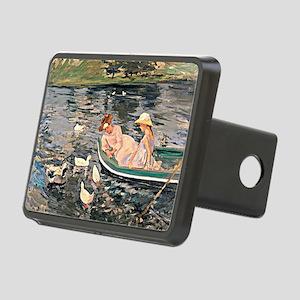 Mary Cassatt - Summertime Rectangular Hitch Cover
