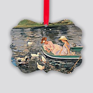 Mary Cassatt - Summertime Picture Ornament
