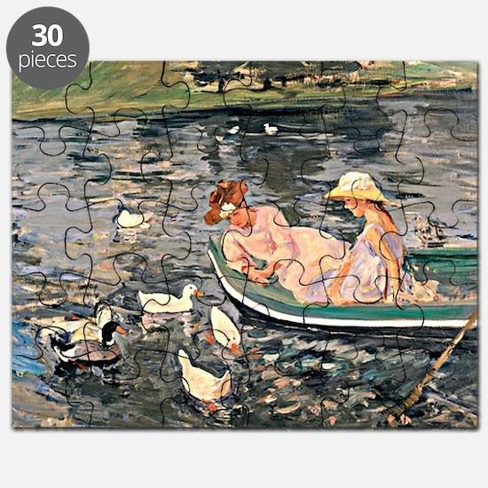 Mary Cassatt - Summertime Puzzle