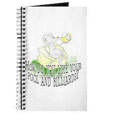 OTC Billiard Mouse Cartoon Journal