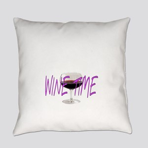 WINE TIME Everyday Pillow