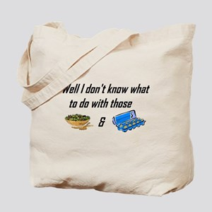 Tossed Salad & Scrambled Eggs Tote Bag