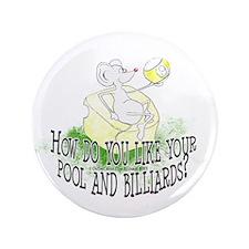 OTC Billiard Mouse Cartoon Button