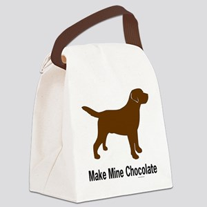 ChocMakeMine2 Canvas Lunch Bag