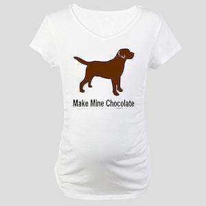 ChocMakeMine2 Maternity T-Shirt