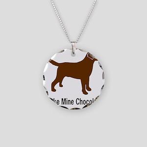 ChocMakeMine2 Necklace Circle Charm