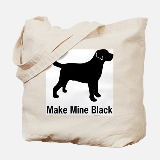 BlkMakeMine Tote Bag