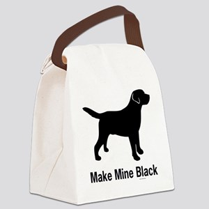 BlkMakeMine Canvas Lunch Bag
