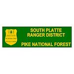 Pike National Forest Bumpersticker 1