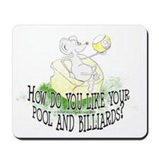 OTC Billiard Mouse Cartoon Mousepad