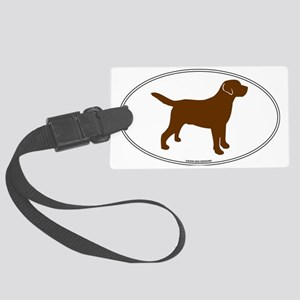 ChocLabSill Large Luggage Tag