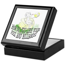 OTC Billiard Mouse Cartoon Keepsake Box