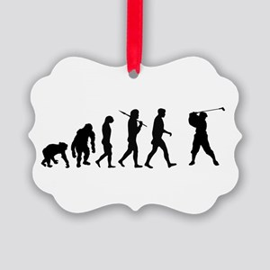 Golf Evolution Ornament