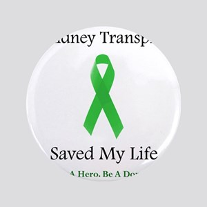 "KidneyTransplantSaved 3.5"" Button"