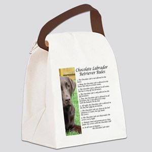 ChocLabRules Canvas Lunch Bag
