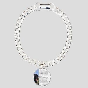 BlackLabRules Charm Bracelet, One Charm