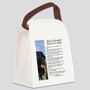 BlackLabRules Canvas Lunch Bag