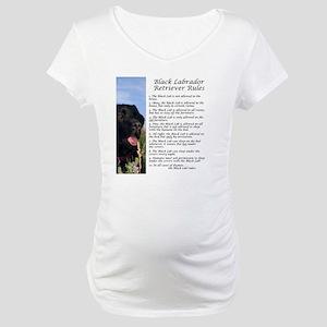 BlackLabRules Maternity T-Shirt