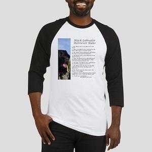 BlackLabRules Baseball Jersey