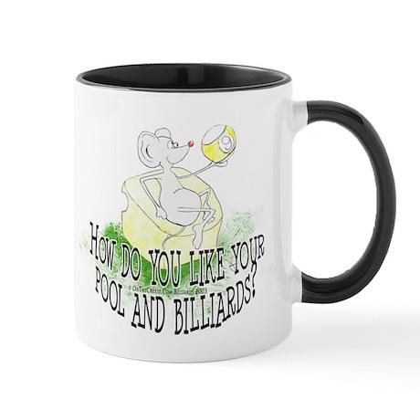 OTC Billiard Mouse Cartoon 11 oz Mug