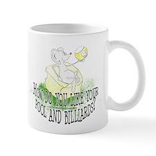 OTC Billiard Mouse Cartoon Mug