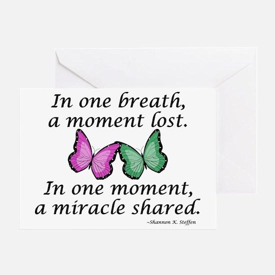 MiracleShared2 Greeting Card