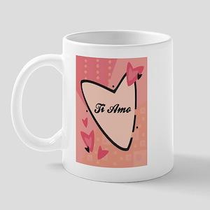 I Love in Italian Mug