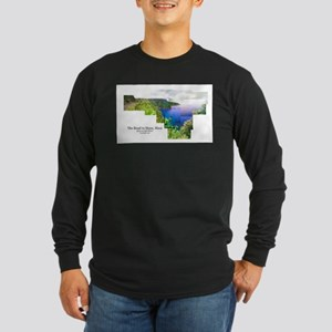Road to Hana, Maui Long Sleeve Dark T-Shirt