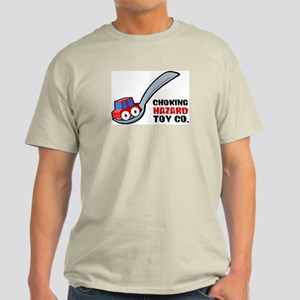 Choking Hazard Ash Grey T-Shirt