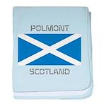 Polmont Scotland baby blanket