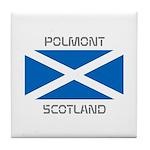 Polmont Scotland Tile Coaster